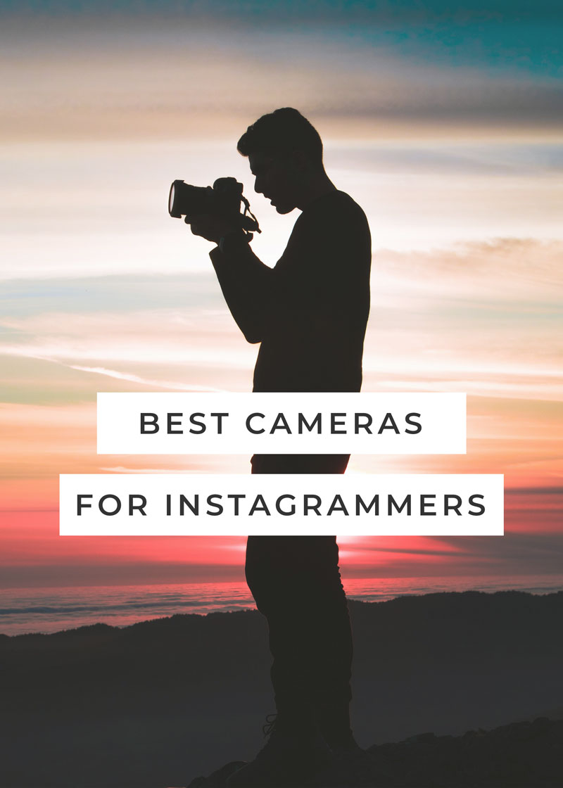 Best Cameras for Instagram // igdcofficial.com