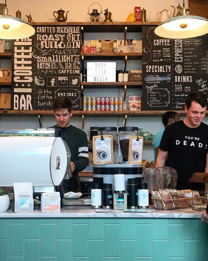 Barista at The Coffee Bar DC