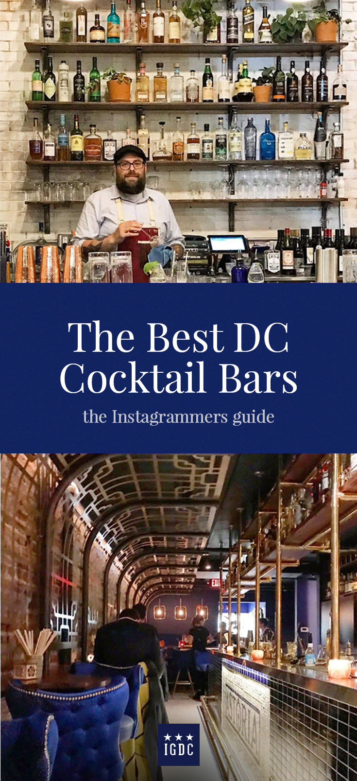 Best Cocktail Bars in Washington DC // igdcofficial.com